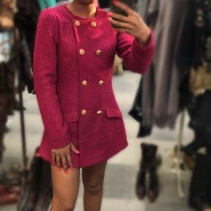 Tweed Blazer Dress